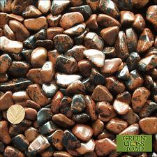 1 x Mahogany Obsidian Tumblestone Protection from Psychic Attacks