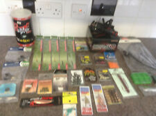 a Joblot of coarse Fishing Accessories reel line terminal Tackle rigs etc