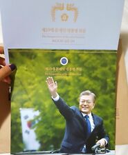 Korea 2017 President Moon Jaein Inauguration Commemorative Stamps Album SET LTD