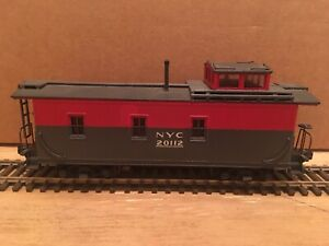 HO Roundhouse New York Central Pacemaker Cupola Caboose NYC #20112