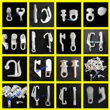 30 Curtain track gliders glide hooks runners pole slides - Rail Tracking parts