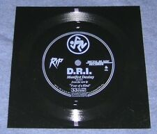 """1988 ~ DRI ~ DIRTY ROTTEN IMBECILES ~ MANIFEST DESTINY ~ 6"""" ONE-SIDED FLEXI ~ NM"""