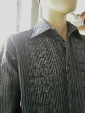VEB Herren Hemden Auerbach DDR True Vintage GDR Freizeithemd Shirt nylon