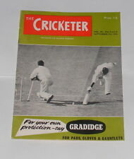 THE CRICKETER MAGAZINE SEPTEMBER 5TH 1959 - ENGLAND V INDIA 5TH TEST MATCH