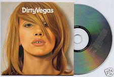 DIRTY VEGAS Dirty Vegas 2002 UK 11-track promo CD