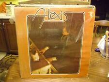 ALEXIS Rose Radlin s/t Self Titled vinyl LP Mushroom Records VG+ IN Shrink