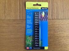 Aqua One LCD Stick On External Fish Tank Aquarium Thermometer