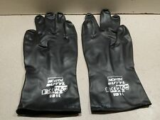 NEW NORTH BY HONEYWELL B131/9 Chemical Resistant Glove, 13 mil, Size 9, PR