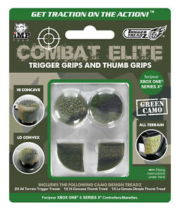 Xbox Series X / Series S Trigger Treadz Combat Elite Thumb & Trigger Grips Pack