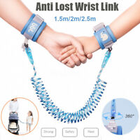 Safety Leash Anti Lost Baby Kids Link Wristband Bracelets For Toddler 1.5/2/2.5m