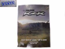 2017 2018 RZR XP 1000/ XP 4 1000 POLARIS OEM SERVICE MANUAL (IN STOCK)