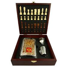 Le jeu d'échecs Coffret cadeau Flasque à alcool 210 ml Aigle bicéphale russe