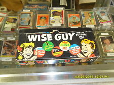 1965 Topps Wise Guy Buttons Unopened 24 Pack Wax Box-Rare Non Sports Box!!