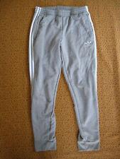 Pantalon Adidas Original Sport Gris Homme Survetement Pants Vintage - M