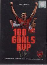 Arsenal F.C.- robin van persie. 100 goals up.. DVD