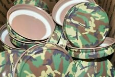 48 Canning lids w button - camo (fits regular-mouth jars for Water Bath Canning)