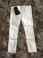 Tommy Hilfiger Designer Girl's White Skinny Jeans Size 4 Years