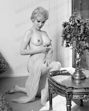 8x10 Print Sexy Model Pin Up  Dirty Blonde Beauty 1968 Nudes #M19