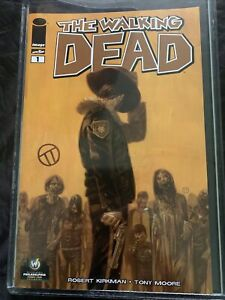 Walking Dead #1 PHILADELPHIA Wizard World Comic Con Variant SIGNED BY TEDESCO 9+