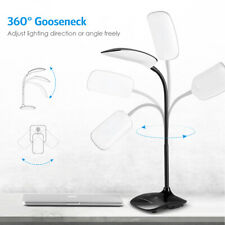 LED Desk Lamp Eye-Caring Table Lamp Travel Use Touch Control AC Adapter Included