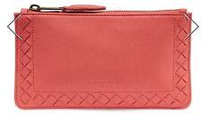 NWT Women's Liebeskind Berlin Leather Rabia Zip Pouch Coin Purse, Lipstick L