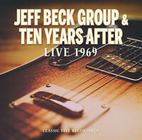 Jeff Beck Group & Ten Years After : Live 1969 CD (2019) ***NEW*** Amazing Value