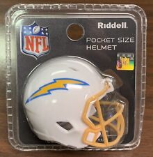 LA Chargers Riddell Pocket Pro Mini Football Helmet - New in Package 2020 Logo