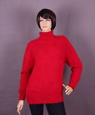 ANGORA pull femmes, couleur: rouge et taille: XL ou XXL AU CHOIX
