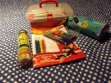Charlie And Lola Pencil Case Plus Toolbox Paint Set And Extras
