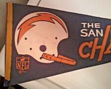 Unique Single Bar Helmet San Diego Chargers 1967 NFL Pennant