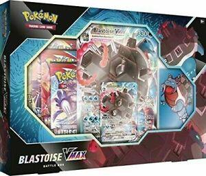 Pokémon Blastoise VMAX Battle Box - *Factory Sealed*
