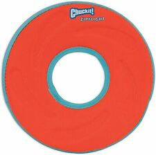 Chuckit Zipflight Ring with Rubber Rim and Liner - Visibility - 21cm - Medium