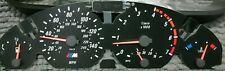 BMW 3 Series E46 Petrol speedo instrument dial kit upgrade +orange needles