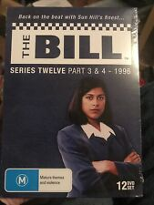 The Bill Series 12 Twelve Parts 3 and 4, 1996 12 DVD Box Set Region free Sealed