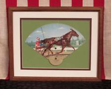 Vintage 1955 Pronto Don Horse Racing Fold Out Postcard Track Fan Sulky Trotting
