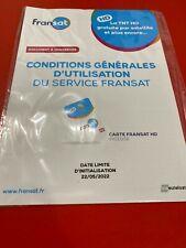 Fransat HD PC6 Carte d'Acces