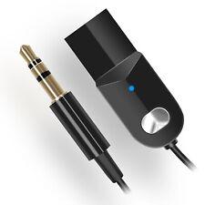 Auto Freisprecheinrichtung Bluetooth Empfänger 3.5mm AUX Adapter Lautsprecher