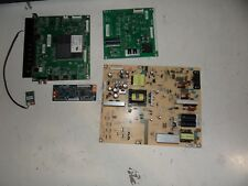 E500i-A1 Vizio Powerboard+Mainboards+Tcon for parts or repair (USED)