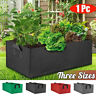 Garden Fabric Plant Grow Bag Pouch Pot Container Flower Vegetable Box W/ Handle