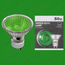 Bombilla halógena de interior de color principal verde