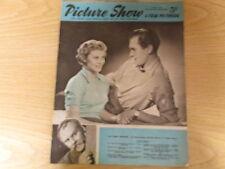 July 1952, PICTURE SHOW, Susan Stephen, Paul Henreid, Cathy O'Donnell, Pat Roc.