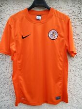 Maillot U.S VAULX EN VELIN football NIKE Dri-Fit orange shirt M