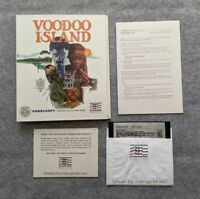 Voodoo Island Apple II Angelsoft Mindscape vintage text adventure computer game