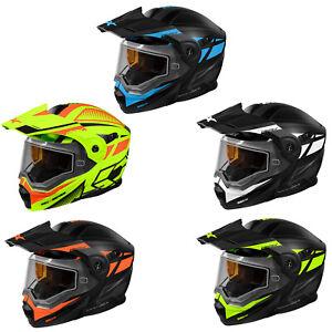 Adult Castle X Dual Sport Modular Snowmobile Helmet DOT CX950 Blitz ATV UTV SxS
