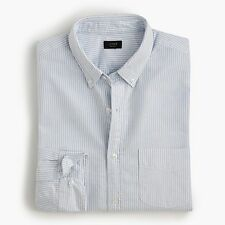 J.Crew Slim Vintage Oxford Shirt in Sun-Faded Stripe - Small RRP £72