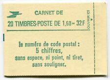 RC 5982 FRANCE CARNET 2219-C 2 LIBERTÉ 20 TIMBRES A 1,60f  MNH NEUF **