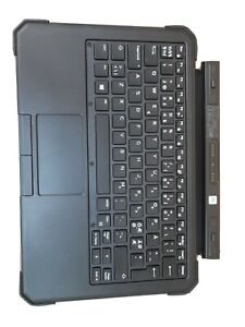 Dell Latitude 12 7220 7212 7202 Tablet Norwegian QWERTY Keyboard Cover backlit