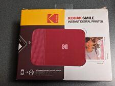 KODAK Smile Instant Digital Printer - Red