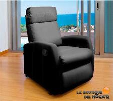 Sillón Relax modelo Comfort Premium Pared Cero Negro