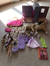 Massive Only Hearts Club Lot Dolls, Clothes, Pets, Carrying Case, Ballet, Horses